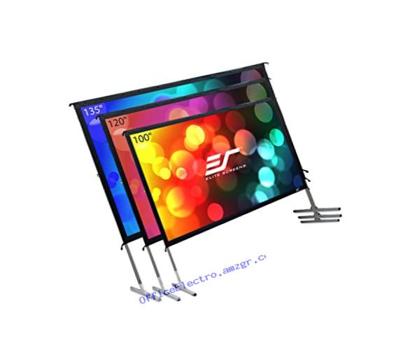 Elite Screens Yard Master 2, 120-inch 16:9, 4K Ultra HD Ready Portable Foldaway Movie Theater Projector Screen, Front Projection - OMS120H2