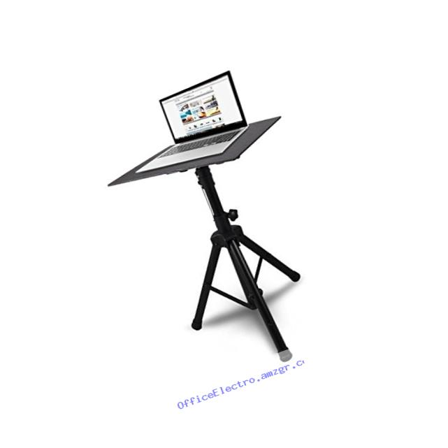 Pyle Pro PLPTS4 Adjustable Tripod Laptop Projector Stand, 28' To 46'
