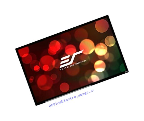 Elite Screens ezFrame Series, 150-in 16:9, Sound Transparent AcousticPro1080P3 Fixed Frame Projection Screen, R150WH1-A1080P3