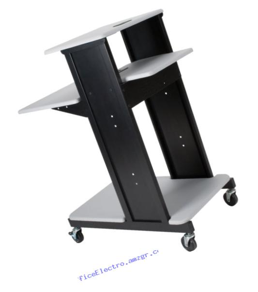 Balt Presentation Cart, X-Long, Gray