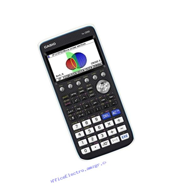 Casio Color Graphing Calculator, Black & White,7.21