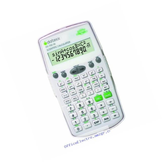 Datexx DS-700C 224-Function 2-Line Scientific Calculator
