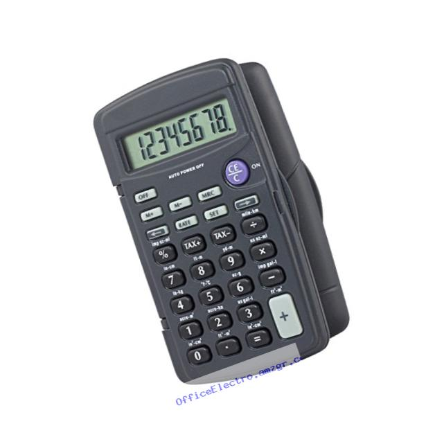 Control Company 1001 Control , Calculator, Portable, 4-1/4 In, 8 Digit ,Grade: 1 to 12 , 2