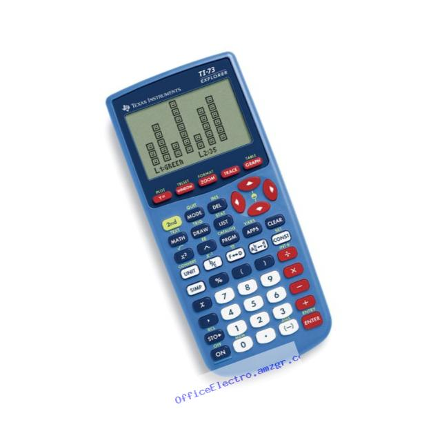 Texas Instrument TI-73TP Graphing Calculator (10-Pack)